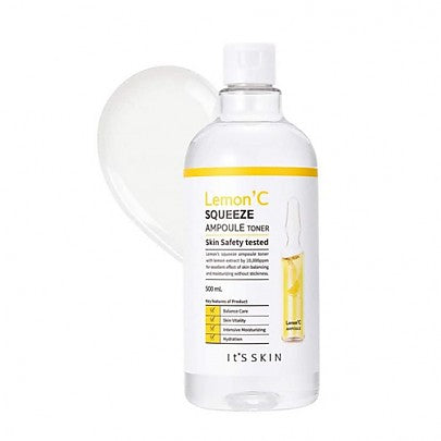 It's Skin Lemon'C Squeeze Ampoule Toner 500ml hyaluronic acid moisture