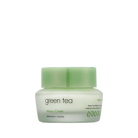 It's Skin Green Tea Watery Cream 50ml Bamboo extracts moisturizing