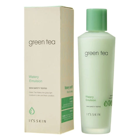 It's Skin Green Tea Watery Emulsion 150ml moisturizing smoothes