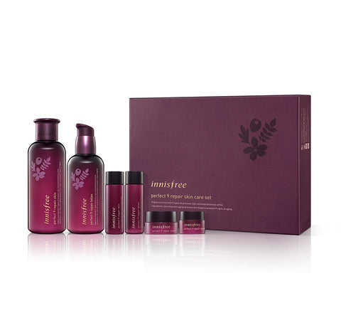 Innisfree perfect 9 repair skin care sets