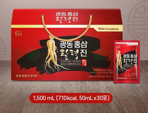 KWANGDONG RED GINSENG 1,500ml Korean Healthcare Food Supplements