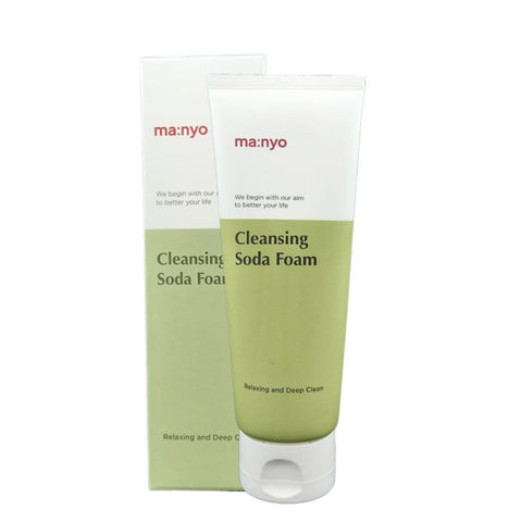 ma:nyo Deep Pore Cleansing Soda Foam 150ml Acne Pores Dry Skin Care
