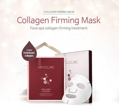 MAXCLINIC Collagen Firming Mask Skin Barrier Care Elasticity Moisture