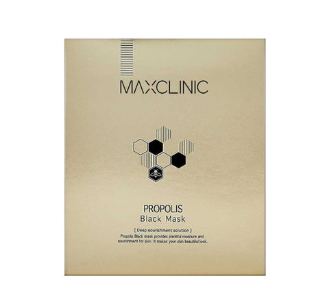 MAXCLINIC Propolis Black Mask Skin Barrier Care Elasticity Moisture