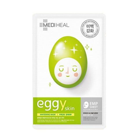 Mediheal Eggy Skin Calming Mask Whitening Bright Lifting Moist Care