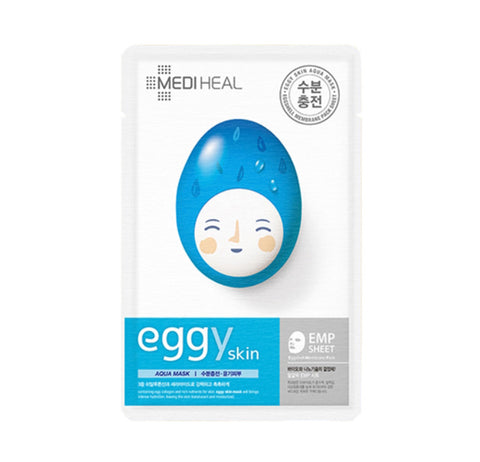 Mediheal Eggy Skin Hydrating Mask Moisture Beauty Collagen Lifting