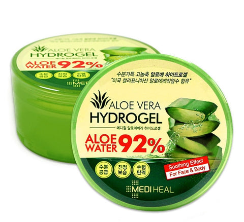 MEDIHEAL ALOE VERA HYDROGEL 300ml Soothing Gel Womens Skincare Facial