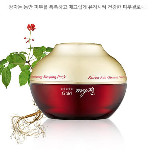 My Jin Korean Red Ginseng Sleeping Pack Night Skin Care Moisture Face