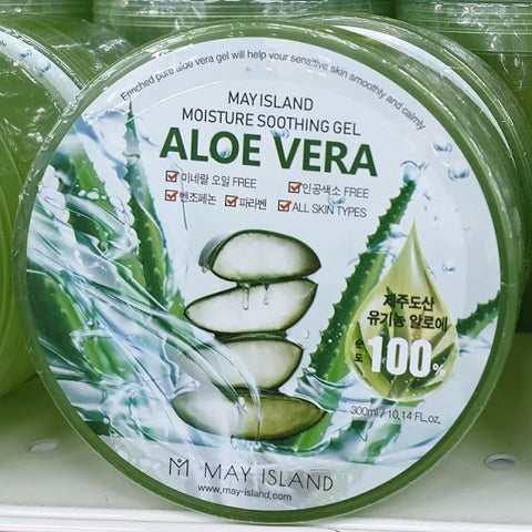 May Island Aloe Vera Purity 100% Soothing Gels 300ml
