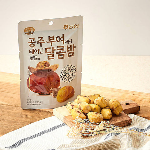 Nonghyup Areumchan Korean 100% real Sweet Chestnut Buyeo K-foods