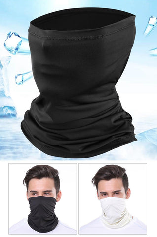 Cooling Mask UV Protection Sports Outdoor Face Waterproof Scarf Gaiter