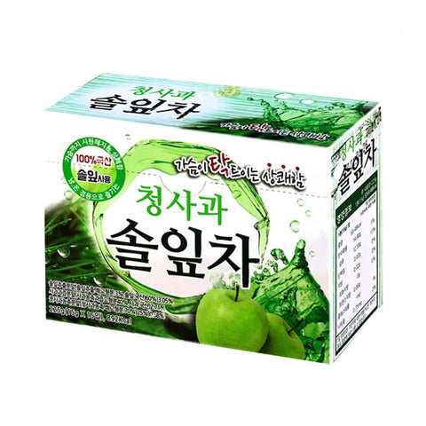 DONGIL Green apple Pine Leaf Tea 15 Stick Health Supplement Korea