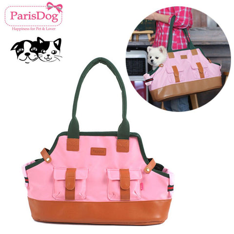 Pets Dogs Bags Pink Puppy Carrier Pet supplies Travel