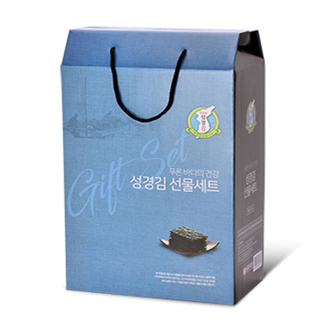 SUNG KYUNG Laver Gift Sets Korea Foods Lunch box Picnic Health food