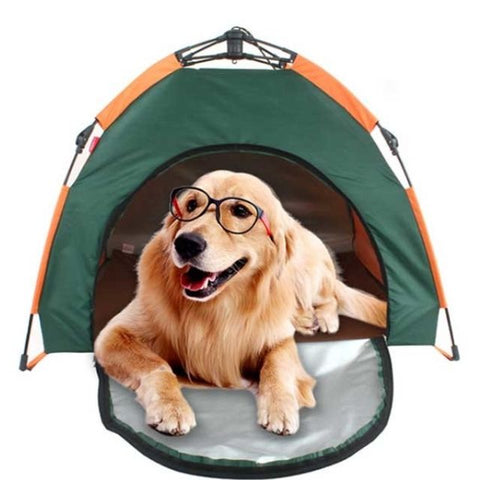 Pet Dog Cat Waterproof One-touch Tent Campingware Outdoor Pet supplies