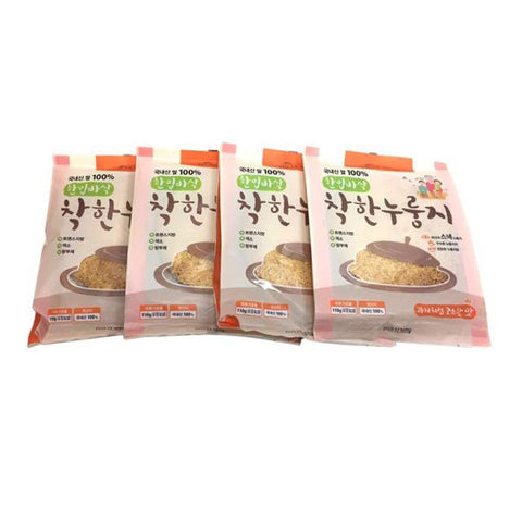 MILAK FOOD Good Nurungji 110g x 4pcs Crispy rice crust Korean foods