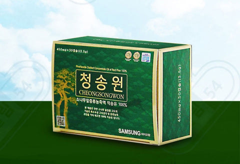 RED PINE NEEDLE OIL 100% CHEONGSONGWON Korean Health Care Food