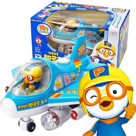 PORORO Little Jumbo Airplane with 18 Melodies Kids Toys Korean