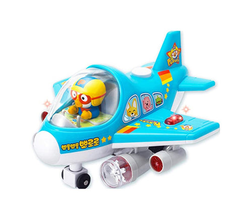 PORORO Little Jumbo Airplan Kids Toys Children Gifts Kid Song Toys
