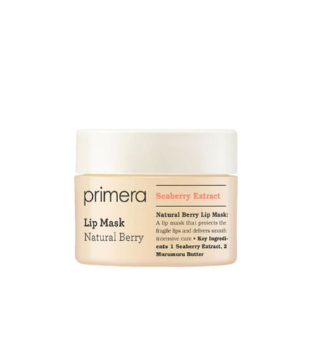 Primera Natural Berry Lip Mask 17g  Dry Lips Nutrients Care Beauty