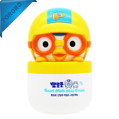 Pororo Goat Milk Mild Cream 60g Korean Children Kids Skincare Moisture