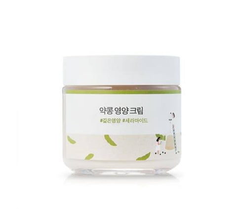 Round Lab Soybean Nourishing Cream 80ml Skin Care Nourishing Ceramide