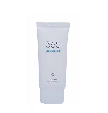 ROUND LAB 365 Derma Relief Sun Cream 50ml Moisture Soothes Skin Sebum