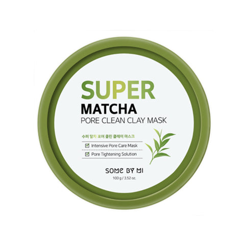 SOME BY MI Super Matcha Pore Clean Clay Mask 100g Pore Care tightening