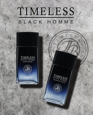 SNP Timeless Black Homme Skin Care 2 Set For Men Dry Skin Elasticity