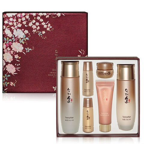 SOORYEHAN Bichaek True-Rejuvenating Skincare Duo Set Ginseng Resilient