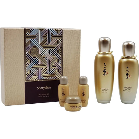 SOORYEHAN Boyun Skin Care Duo Gift Set moisturizing wrinkle soothing
