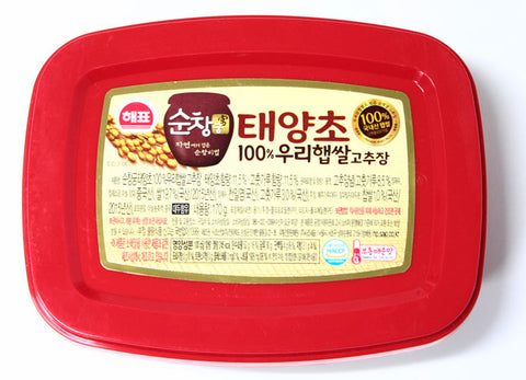 Red Pepper Paste 170g Korean Chili Sauce Taeyangcho Gochujang Foods