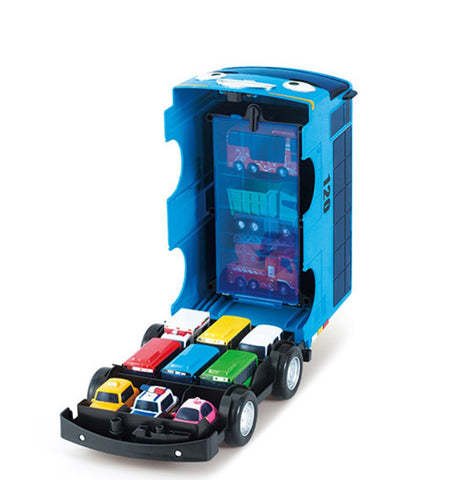 Tayo Little Bus Mini Car Carrier Toy Case Kids Character Children Gift