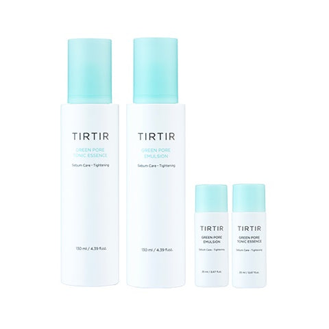TIRTIR Green Pore Skin Care Special Set Hamamelis Virginiana moisture