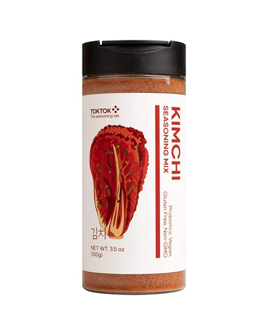 TOKTOK Korean Kimchi Seasoning Powder Mix 3.5oz (100g) BBQ Grilling