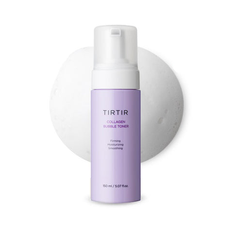 TIRTIR Collagen Bubble Toner 150ml Firming Moisturizing Smoothing