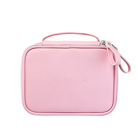 TIRTIR Play Pink Pouches Zipper Makeup Beauty Bags Womens Travel Trip