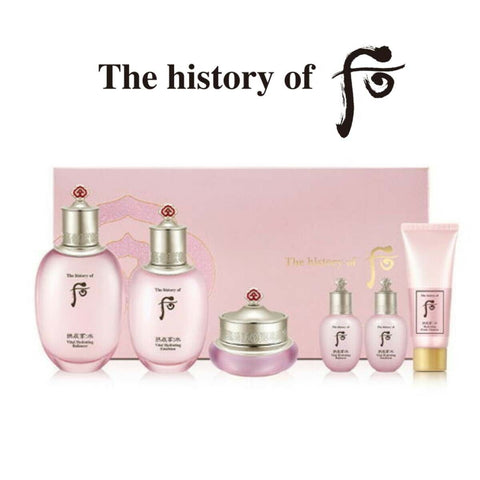 The History of Whoo Gongjinhyang Soo Special Sarang Set Gifts moisture