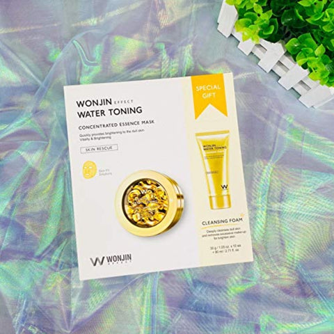 WONJIN EFFECT WATER TONING CONCENTRATED ESSENCE MASK Womens Skincare