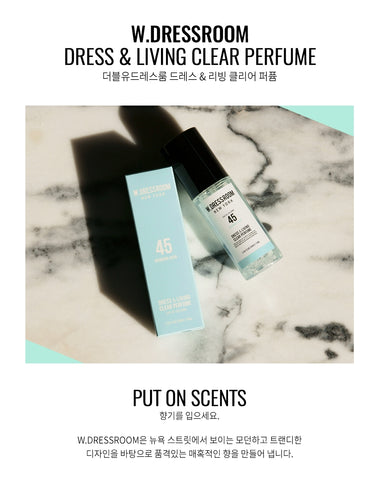 W.Dressroom Dress Living Clear Perfumes 70ml [45.Morning Rain]