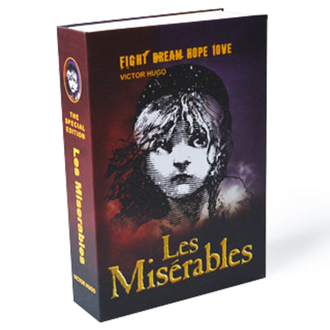 Les Miserables Book Safe Lock keys
