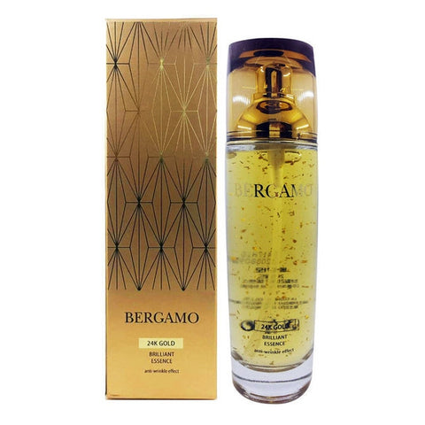 Bergamo 24K Gold Brilliant Essence 110ml 3.71 fl.oz Ginseng Skincare