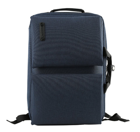Navyblue Canvas Laptop Multi Backpacks Crossbody Bags Mens School
