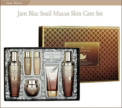 JANT BLANC Snail Mucus Skin Care 4 Item Sets