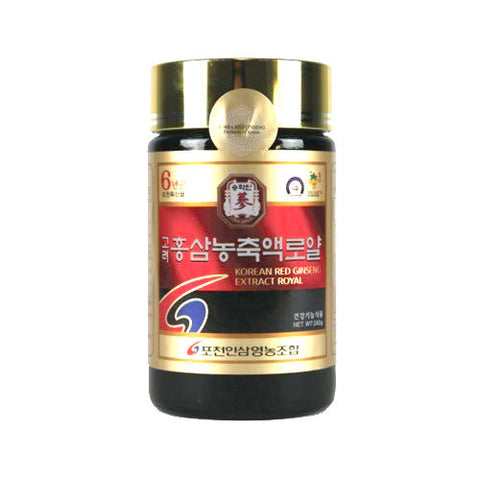 100% Pure Korean Red Ginseng Extract Royal 6 years Roots 240g