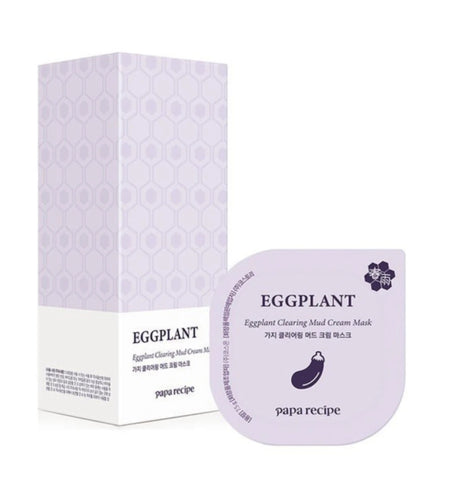 papa recipe EGGPLANT CLEARING MUD CREAM MASK 75g Skincare Womens Face