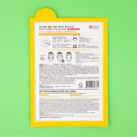 SNP Pepta Firming Active Seal Mask (5 sheets) [ Made in Korea ]