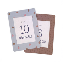 Load image into Gallery viewer, Baby Milestone Cards - Milk&Honey Brand - Milestone Cards, baby-milestone-cards,