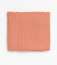 Load image into Gallery viewer, Clay Muslin Swaddle - Milk&Honey Brand - , clay-muslin-swaddle,