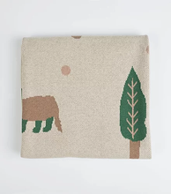 Load image into Gallery viewer, Badger Baby Blanket - Milk&Honey Brand - , badger-baby-blanket,